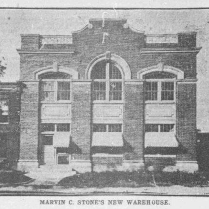 5: Novelty Manufacturing Warehouse, O Street NE, Built 1907