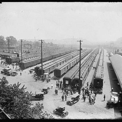 8: Eckington Rail Yard Freight Depot, Opened 1910
