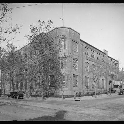 9: Judd & Detweiler Printing Plant, Corner of Florida Avenue & Eckington Place NE, Opened 1912
