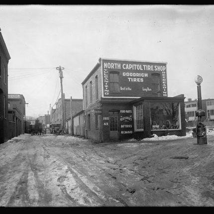 11: North Capitol Tire Shop, 1218 North Capitol St. NW, 1919