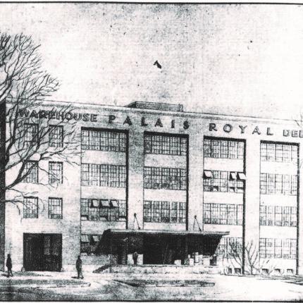 15: Palais Royal Warehouse, 1100 Block of First Street NE, Built 1931