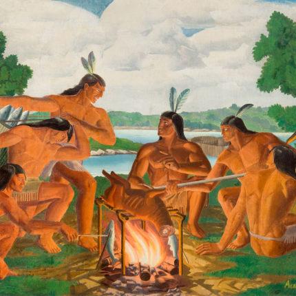 2: Nacotchtank on Roosevelt Island, late 1600s